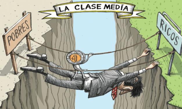 UNA CLASE MEDIA DEVASTADA Y GOLPEADA POR LAS CRISIS