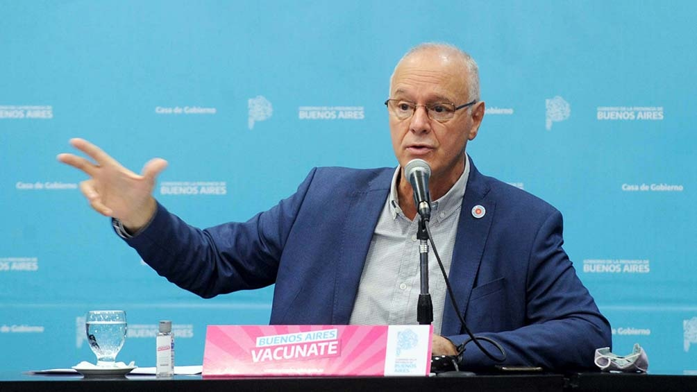 DANIEL GOLLÁN, MINISTRO DE SALUD DE AXEL KICILLOF, PIDE UN CIERRE TOTAL DE 15 DIAS