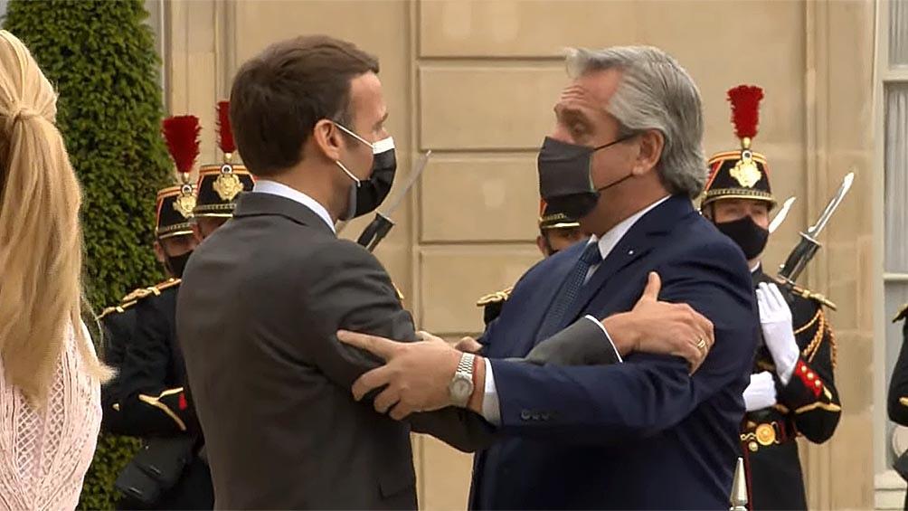 MACRON A ALBERTO FERNÁNDEZ: «FRANCIA ESTÁ DE SU LADO» EN LA RENEGOCIACIÓN DE LA DEUDA