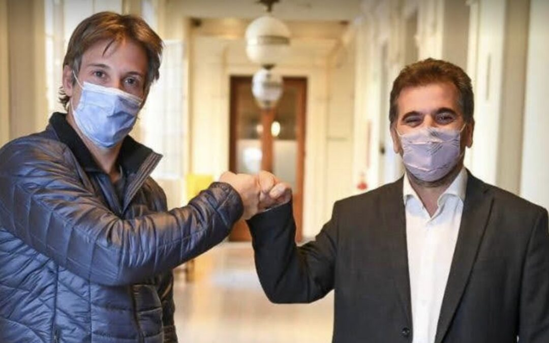 CRISTIAN RITONDO SORPRENDIÓ COMO CANDIDATO EN TIGRE PARA APOYAR A SEGUNDO CERNADAS